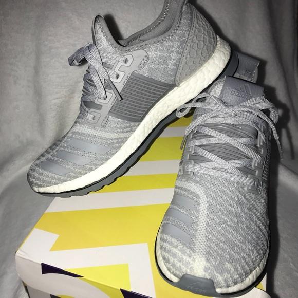 6eb39c217 adidas Other - Adidas Pureboost ZG Gray Running Shoe Mens Size 7